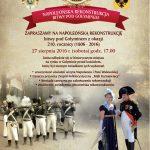 Zapraszamy na Napoleońską rekonstrukcję bitwy pod Gołyminem z okazji 210. rocznicy (1806 – 2016)